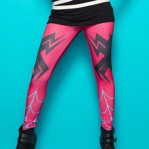 WeLoveFine Spider Gwen Cosplay Leggings